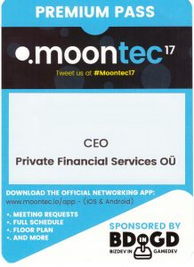 Private Financial Services at Moontec17