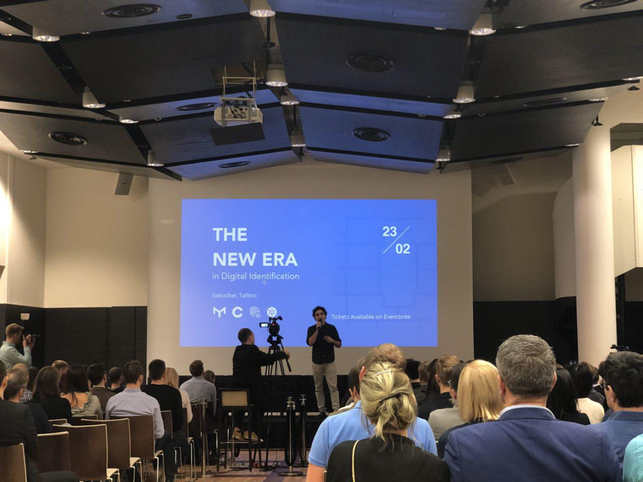 Приняли участие в конференции - The New Era in Digital Identification